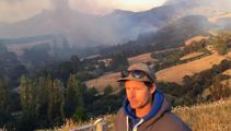 Farmers frustrated at progress of Canterbury fire