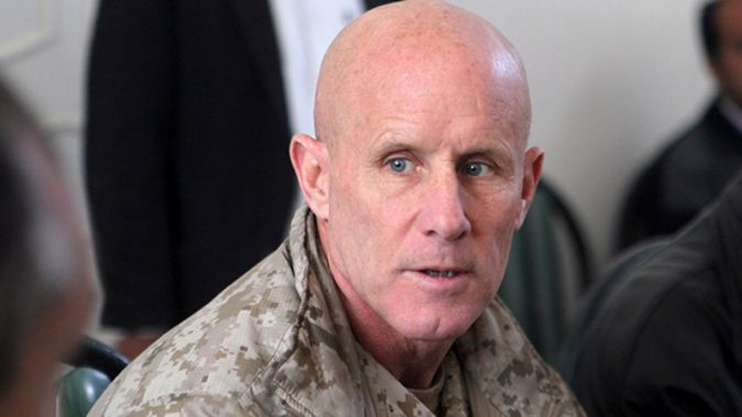 President Donald Trump's choice for national security adviser, retired Vice Admiral Robert Harward, has rejected the job (NZH)