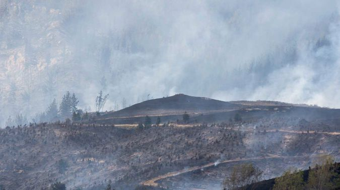 Firefighters will also be tackling the blaze from the air, working to strengthen lines separating homes from the fire zone (Getty Images)