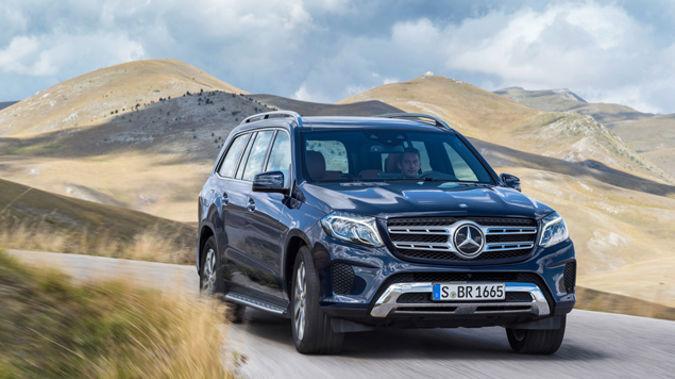 The Mercedes Benz GLS (Supplied)