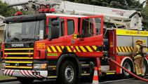 Helicopter fights scrub fire near Te Kuiti