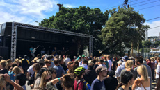 Good behaviour at the weekend's festivals in Wellington