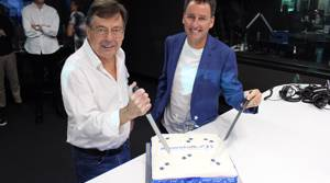PHOTOS: Newstalk ZB 30th birthday cake