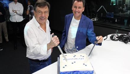 PHOTOS: Newstalk ZB 30th birthday cake