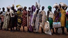 Helen Manson: South Sudanese refugees 'have a hope for the future'