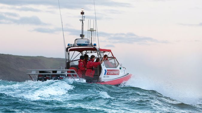 A woman's finger was nearly amputated when it became stuck in a boat's boarding ladder in the Hauraki Gulf this afternoon. Photo / Supplied
