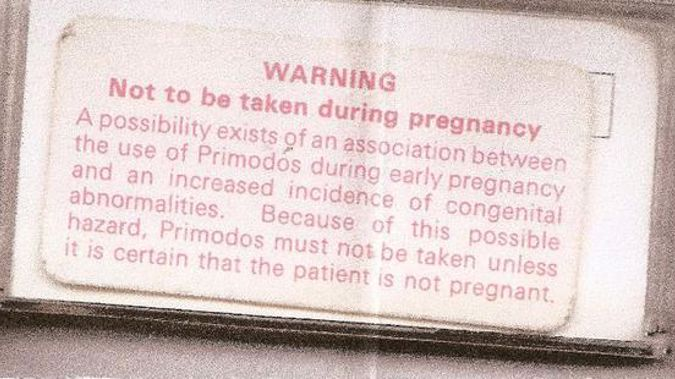 Primodos was given to more than a million expectant mothers in Britain in the 60s and 70s (Supplied)
