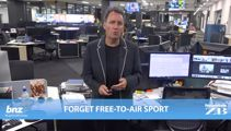 Mike's Minute: Forget free-to-air-sport