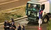 The truck involved in the Nice Bastille Day terror attack (Getty Images).