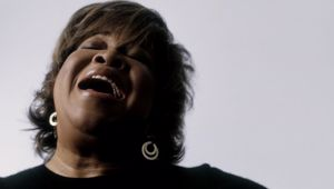 Legendary singer Mavis Staples speaks with Andrew Dickens (Supplied)