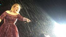 Concert-goers get drenched at Adele's final show