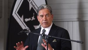 NZ First leader Winston Peters spoke with Leighton Smith (Photo / NZ Herald)