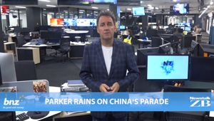 Mike's Minute: Parker rains on China's parade