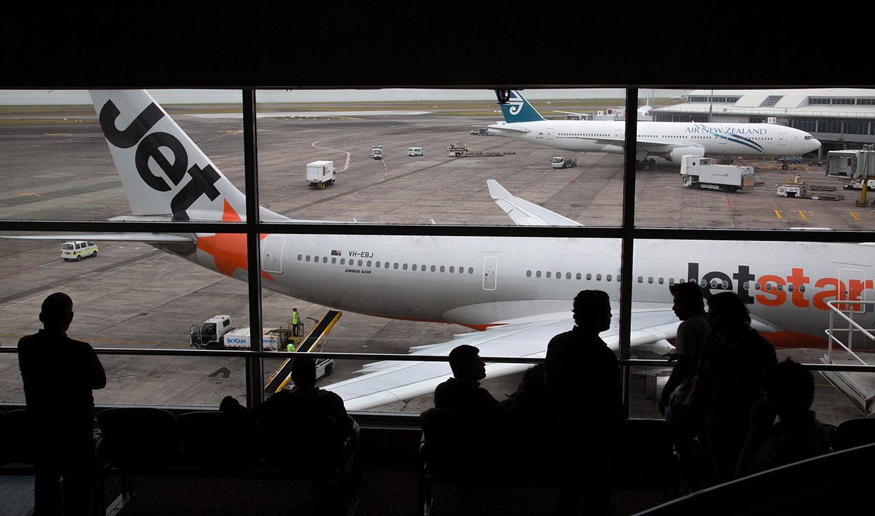 If you want the country's largest city and the powerhouse of the economy to work better, then a second airport offering key domestic flights in and out of north harbour is surely worth looking at (Getty Images)