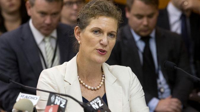 Rebecca Kitteridge, head of the SIS (NZ Herald)