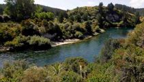Person missing in the Waikato River