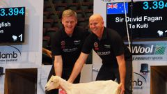 Prime Minister Bill English's shearing stunt with Sir David Fagan was his best publicity stunt yet, an expert says. (NZH)
