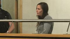 Megan Sarah Louise Walton in court during her last appearance (Supplied)