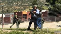California gunman kills wife and student at school