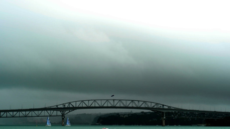 Cyclone Cook's high winds may close Auckland Harbour Bridge