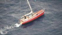 Sailor spends third night stranded