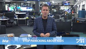 Mike's Minute: Stop panicking about kids