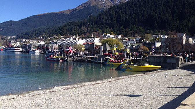 If you're out in Queenstown over the next few days, it'd pay to keep your own counsel, particularly if you spot a bloke wearing a trilby and trench coat, writes Barry Soper (Scarlett Cvitanovich).