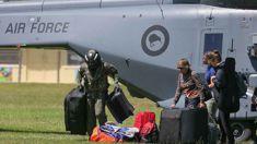 Tony Davies: Helicopter failure