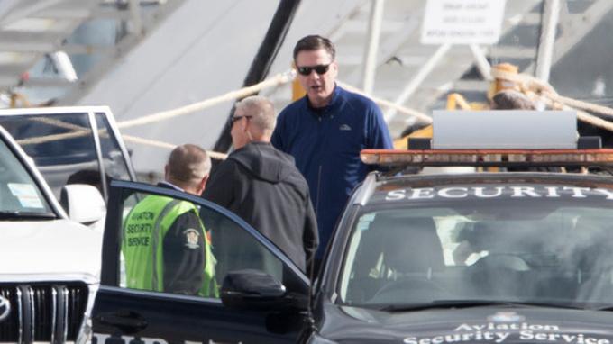 FBI director James Comey arrives in Queenstown