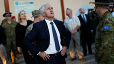Australian PM visits troops in Afghanistan, Iraq