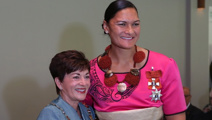 Valerie Adams officially appointed as a Dame