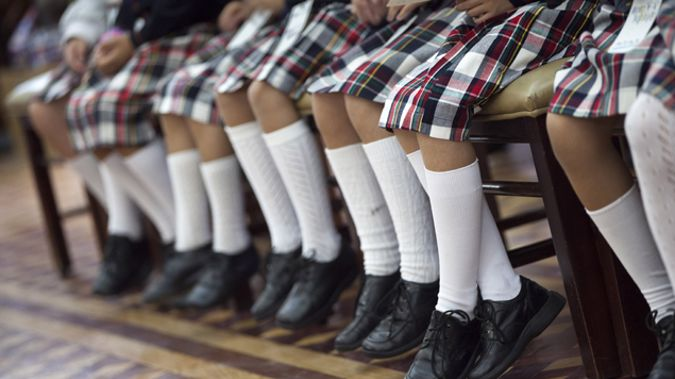The survey shows that the number of students buying tuck shop lunches has halved (Getty Images)