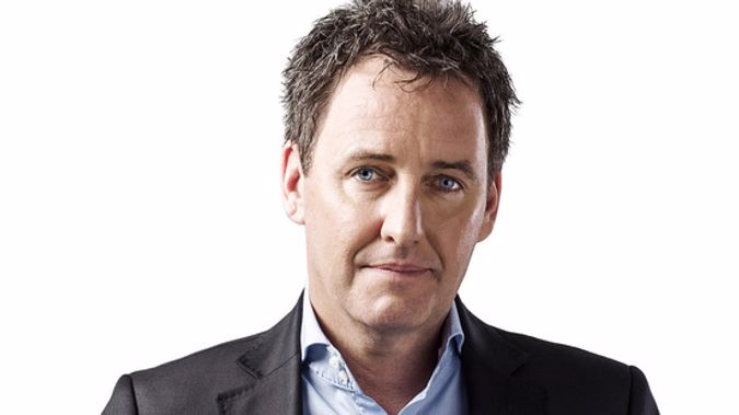 Newstalk ZB's Mike Hosking.