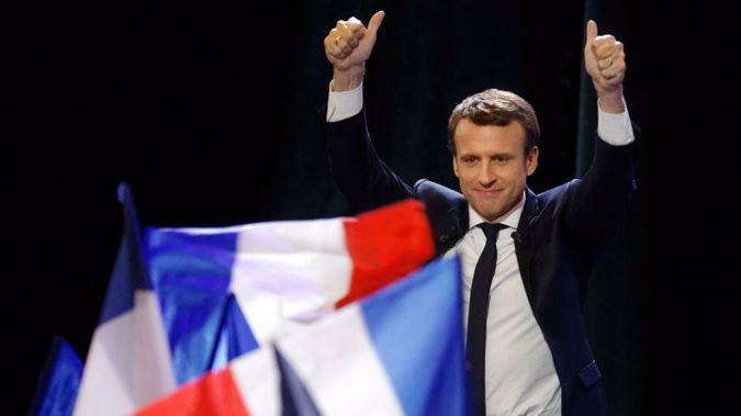 French President Emmanuel Macron (Getty Images).
