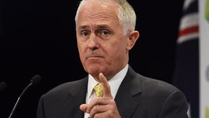 Malcolm Turnbull is announcing his budget today (AAP).