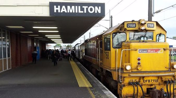 The Northern Explorer currently runs between Wellington and Auckland but not as a commuter service (Gary Farrow).