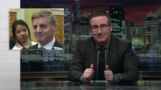 Being mocked by John Oliver might bolster 'tourism and trade' - English