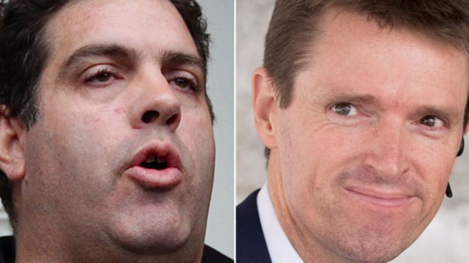 Blogger Cameron Slater and former Conservative Party leader Colin Craig. (Photo/File)