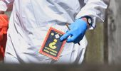 A close-up of the 'Know Your Chemicals' booklet found at the scene (AP).