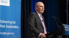 Finance Minister Steven Joyce has delivered his first Budget as Finance Minister today (Photo / Mark Mitchell)