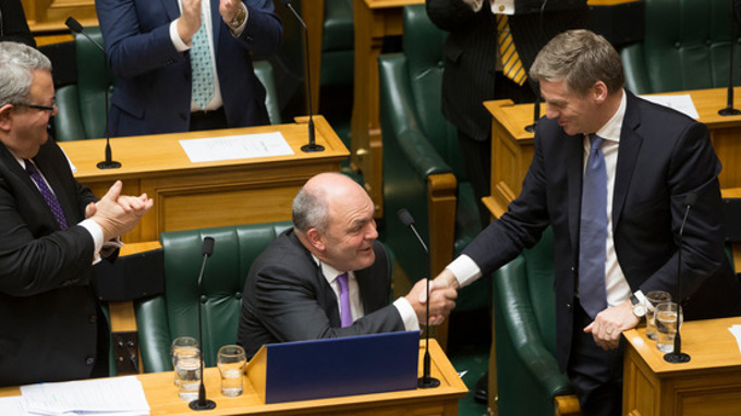 Steven Joyce: 'A Budget that does deliver for New Zealanders'