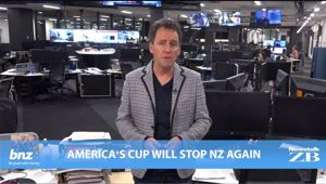 Mike's Minute: America's Cup will stop NZ again