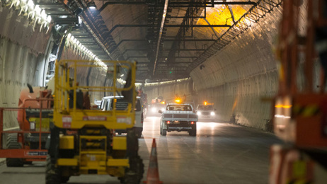 Auckland's Waterview tunnel could open in a matter of weeks