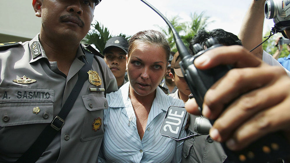 Schapelle Corby chaos: 'Get away from us!'