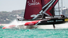 America's Cup - Day one of racing