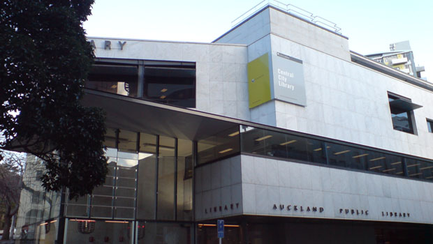 Auckland's Central City Library (File photo).