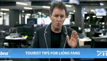 Mike's Minute: Tourist tips for Lions fans