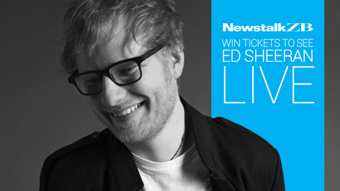 Win: Tickets to Ed Sheeran in Auckland for you and 11 friends