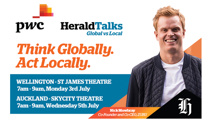 PwC Herald Talks: Global vs. Local