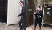 Tyler Stokes and Monique Carlaw leaving court today. Photo / Supplied